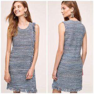 Anthropologie Holding Horses Fringe Sweater Dress